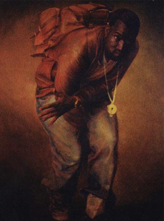 Kanye West, портрет работы Александра Меламида