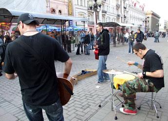 Когда я приехал в Москву, то у меня было десять болванок