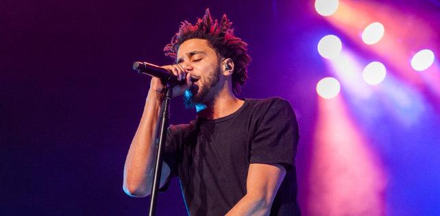 Great Видео: 20 тысячный аншлаг на концерте J.Cole в Madison Square Garden