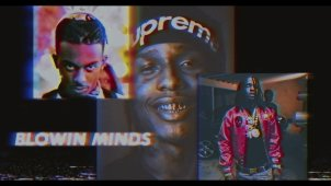 ​A$AP Rocky, A$AP Nast, Chief Keef, Playboi Carti «Blowin Minds»
