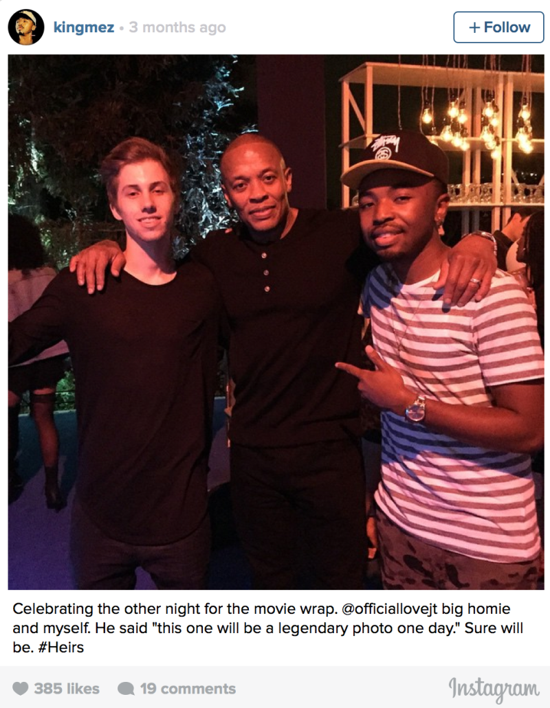 Dr. Dre нашел очередную звезду? 5849
